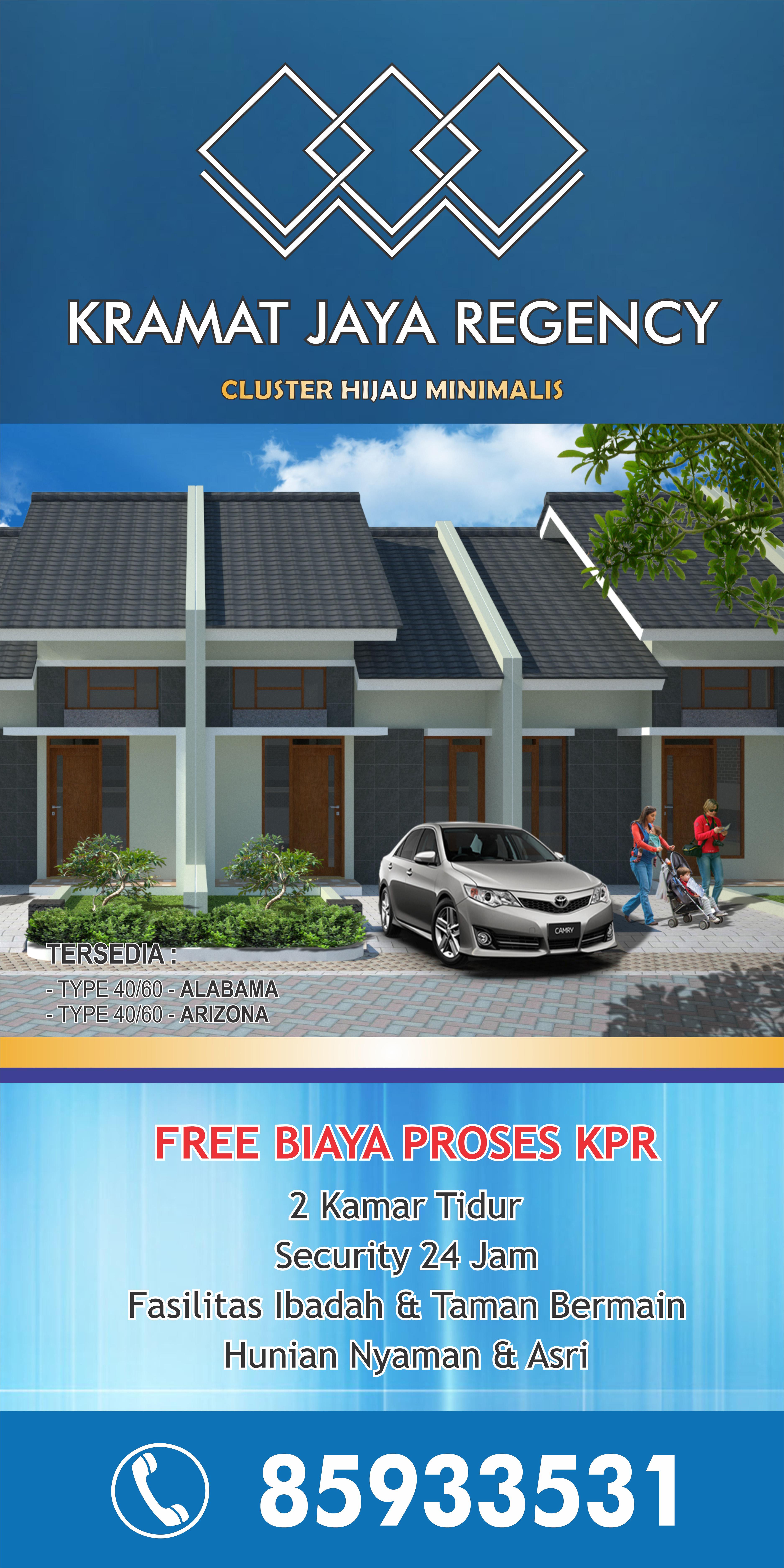BILBOARD KRAMAT JAYA REGENCY2 75 - Percetakan Bandung